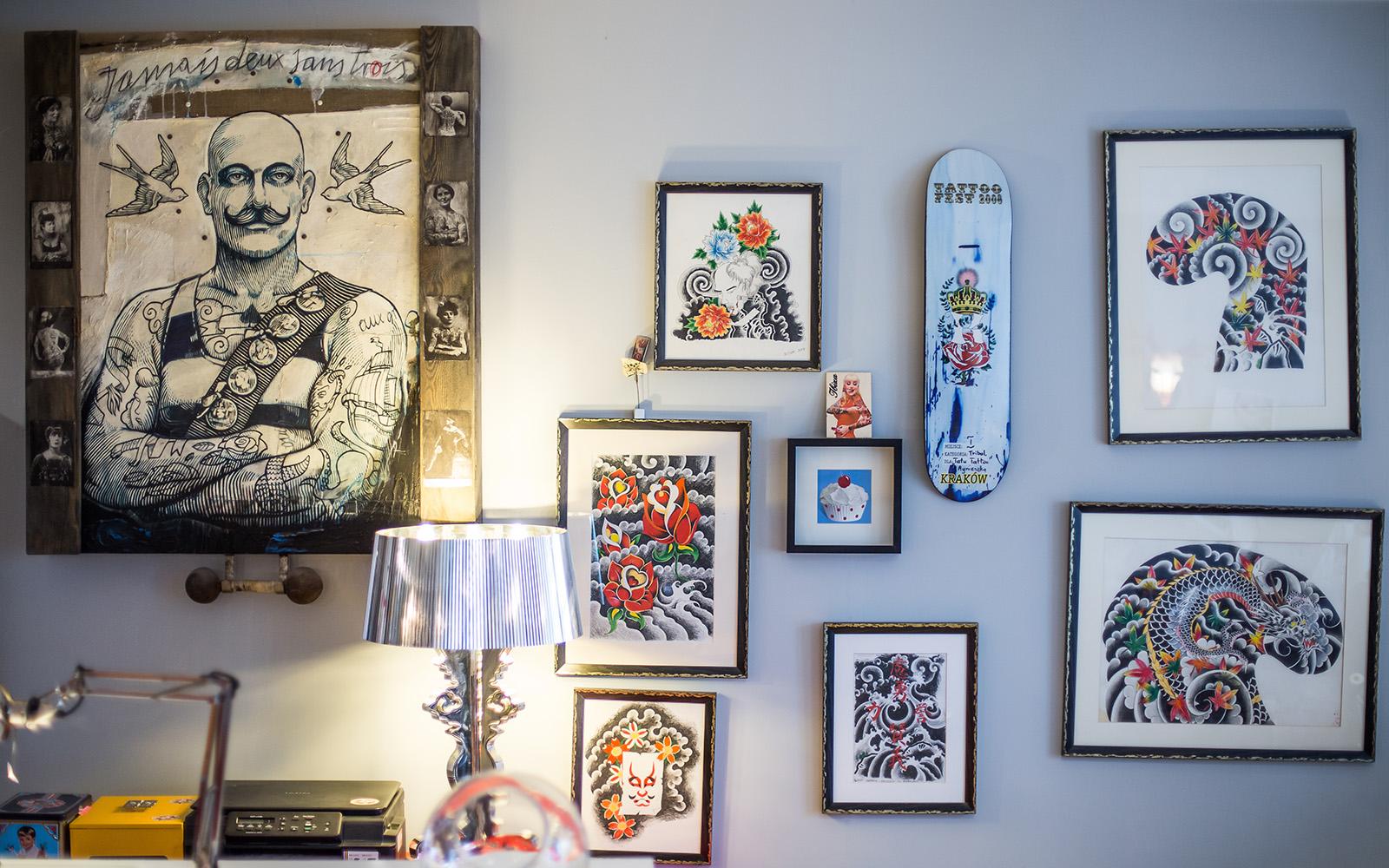 Studio Tattoo Tatu Tatuaż Kolczykowanie Grodzka 50 Kraków